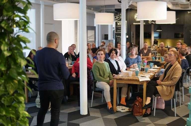 Föreläsning om Sökmotoroptimering hos NyföretagarCentrum Norrköping